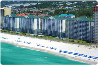 Long Beach condominium in Panama City Beach Florida