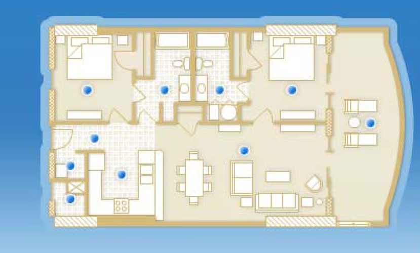 Sunrise Beach Resort Panama City Floor Plans