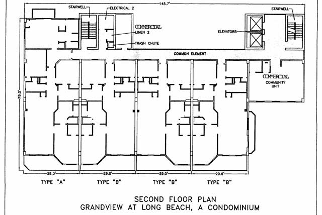 Building Floor Layout And Elevation