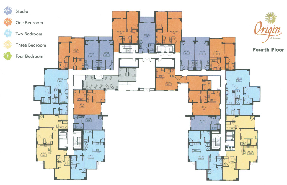 Origin at seahaven condos for Motor pool floor plan