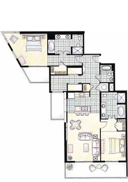 3 Bedroom Condos In Panama City Beach: Splash Condominium