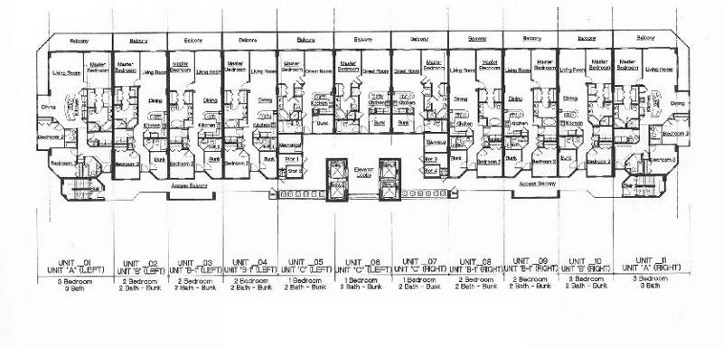 Sunrise Beach Typical Floor Plan 800w